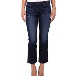 Joe's flawless Olivia cropped flare jeans 26 27 2